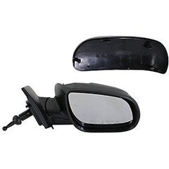 2010-2011 Hyundai Accent Passenger Side Power Door Mirror (Hatchback-Sedan; Non-Heated; Manual; Manual Folding) HY1321173