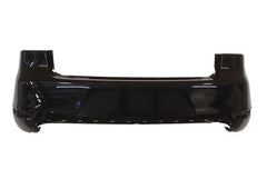 2010-2014 Volkswagen GTI Rear Bumper Painted Deep Black Pearl (LC9X), w/o Park Assist Sensor Holes