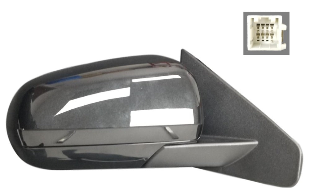 2008-2014 Dodge Avenger Side View Mirror (Heated; Non-Fold; Left) - CH1320268