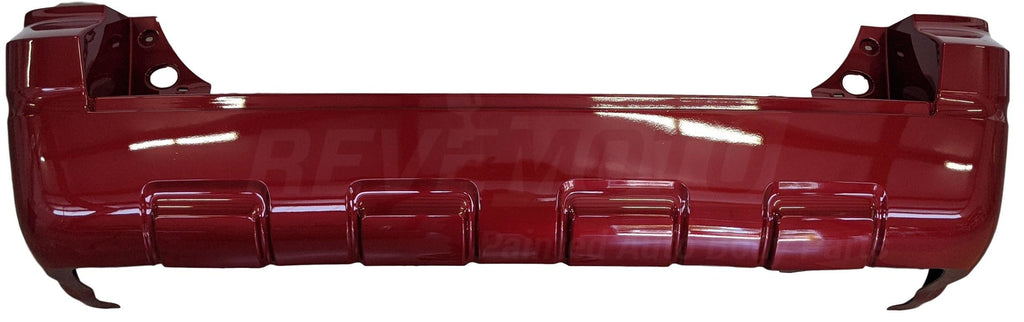 2008-2012 Ford Escape Rear Bumper Cover (w/o Park Assist Sensor Holes; w/o Tow Pkg) FO1100629