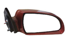 2007 Hyundai Sonata Side View Mirror Painted Dark Cherry Red Metallic_RD (back view)