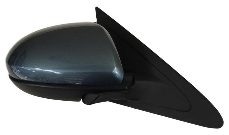 2010-2013 Mazda 3 Mirror (Driver Side); Power; Manual Folding; Heated; w/ Signal Light; w/o Blindspot Detection; w/ Cover; MA1320159; BBM66918ZN