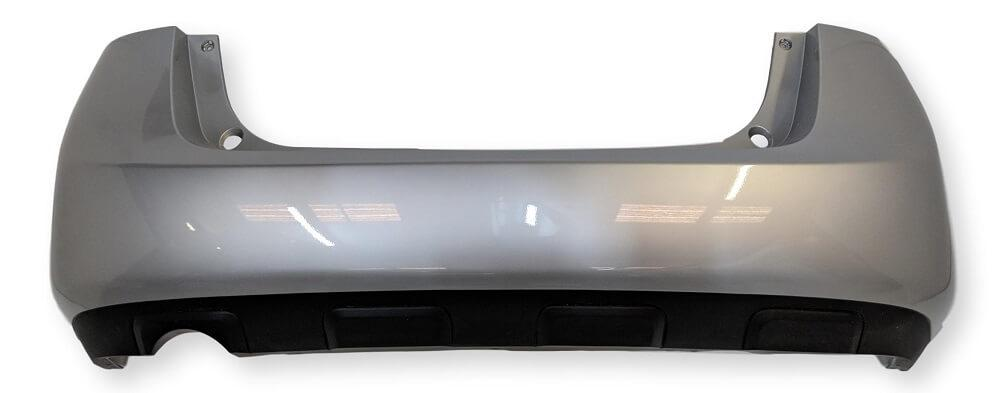 2009 Nissan Rogue Rear Bumper Painted Black Obsidian (KH3)