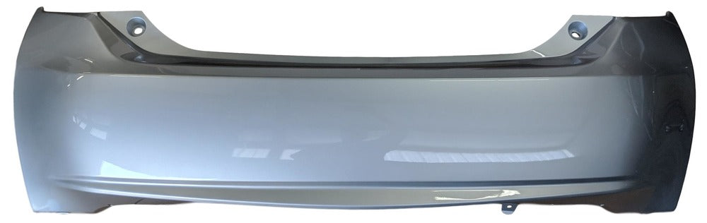 2010 Toyota Prius Rear Bumper Cover, GS Type, With Spoiler Holes, Painted  Classic Silver Metallic (1F7)