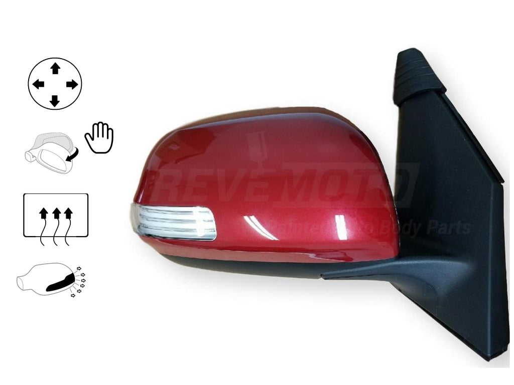 2009 Toyota RAV4 : Painted Side View Mirror