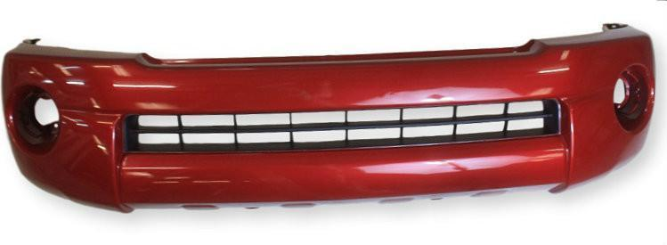 2010 Toyota Tacoma Front Bumper Painted Barcelona Red Mica (3R3), Base