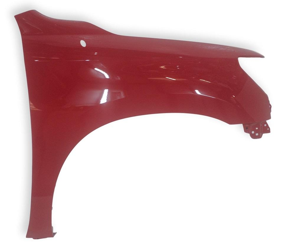 2011 Toyota Tundra Driver Side Fender Painted Barcelona Red Mica (3R3)