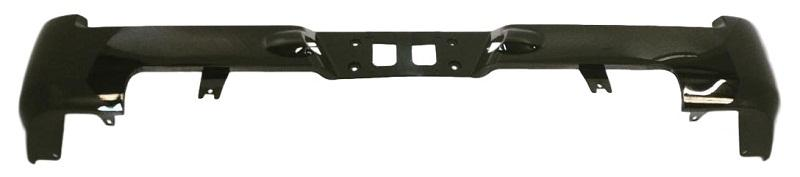 2007-2013 Toyota Tundra Rear Bumper; Pick-up; w/o Park Assist Sensor Holes; Plastic/Resin; TO1100256; 521590C903