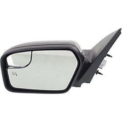 2011-2012 Ford Fusion Driver Side Power Door Mirror (Heated; w- Puddle Lamp; w- BSG; w-o Blis) FO1320423