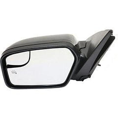 2011-2012 Ford Fusion Driver Side Power Door Mirror (Heated; w-o Puddle Lamp; w- BSG; w-o Blis; w- Spotter Glass) FO1320421
