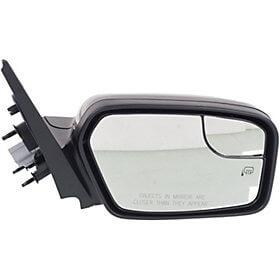 2010-2012 Ford Fusion Driver Side Power Door Mirror (Heated; w/ Puddle Lamp; w/ BSD; w/ Blis)  FO1320431