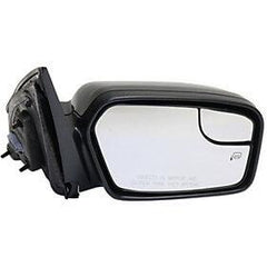 2011-2012 Ford Fusion Passenger Side Power Door Mirror (Heated; w-o Puddle Lamp; w- BSG; w-o Blis; w-Spotter Glass) FO1321421