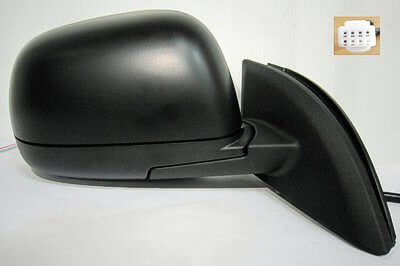 2011-2012 Nissan Leaf Driver Side Power Door Mirror Non-Heated Glass_NI1320230