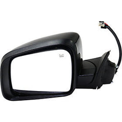 2011-2013 Jeep Grand Cherokee Side View Mirror (Heated; w/ Memory; w/o Blind Spot Detection; Left) - CH1320395