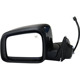 2011-2017 Jeep Grand Cherokee Side View Mirror (Heated; Manual Folding; w/o Blind Spot Detection; Left) - CH1320330