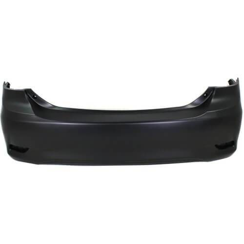 2011-2013 Toyota Corolla Rear Bumper; Sedan; Canada Built, BASE_CE_LE  Except S_XRS Models; w_o Spoiler Holes; TO1100287; 5215902977
