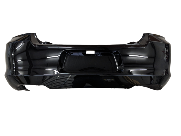 2011-2014 Dodge Avenger Rear Bumper Painted Black (PX8)