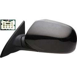 2011-2014 Subaru Legacy Driver Side Power Door Mirror (Heated; Power; Manual Folding) SU1320124