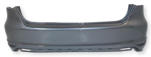 2011-2014 Volkswagen Jetta Rear Bumper (Type 6; Sedan Models except GLI; w/o Park Assist Sensor Holes) - VW1100186