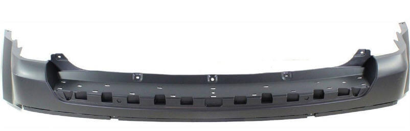 Bumper Cover For 2011-2017 Jeep Patriot Rear Upper Plastic Paint To Match