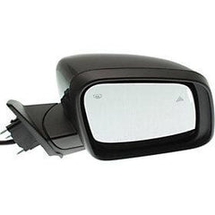 2011-2018 Dodge Durango Side View Mirror (Heated; w/ Signal Light; w/ Memory; w/ BSD; Manual Folding; Right) - CH1321419