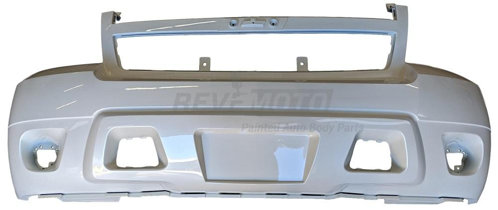 2008 Chevrolet Avalanche Front Bumper, Without OFF-Road Package Painted Black (WA8555)_25814570