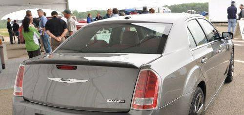 2006 Chrysler 300C SRT-8 Spoiler Painted