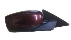 2011 Honda Accord Side View Mirror Painted Basque Red Pearl, Paint Code: R530P (back view)); 76208TA5A11