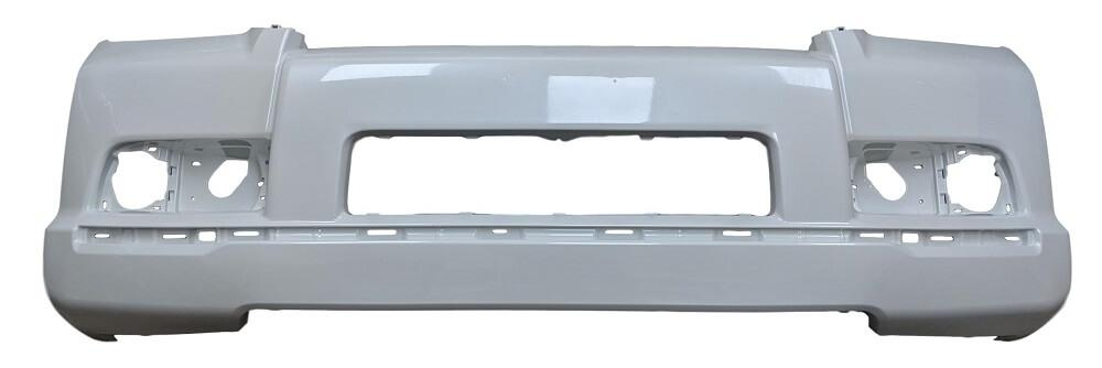 2013 Toyota 4Runner Front Bumper Cover, Limited, SR5 Models, With Holes for Chrome Trim,Spoiler, All prime With Smooth Upper; Fine Textured Lower, Painted  Black (202)