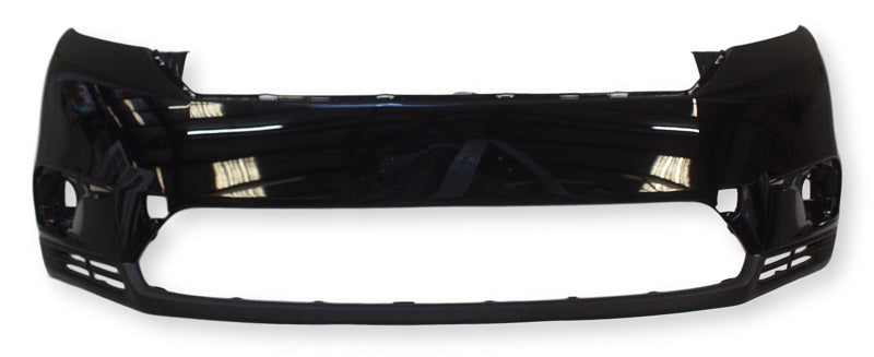 2011 Toyota Highlander Front Bumper Painted Black (202), Except Hybrid