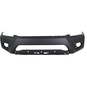 2012-2015 Toyota Tundra Front Bumper; 2WD/4WD; Base/Pre-Runner; Except X-Runner; w/ Wheel Flares; TO1000382; 5211904090
