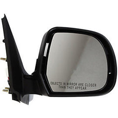 2012-2014 Nissan Versa_SDN Passenger Side Power Door Mirror Sedan SL SV Models, Power, Manual Folding, Non-Heated_NI1321227