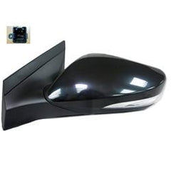 2012-2017 Hyundai Accent Driver Side Power Door Mirror (Hatchback-Sedan; Non-Heated; w- Turn Signal; w-o BSG; Power; Manual Folding) HY1320182