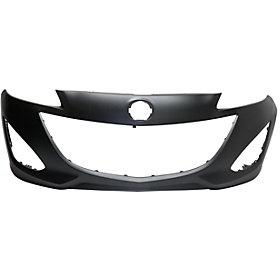 2012-2017 Mazda5 Front Bumper; Upper Primed; Lower Textured; MA1000234; C51350031BBB