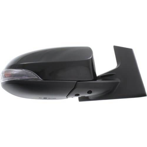 2012-2019 Toyota Prius C Mirror (Driver Side); C Models Only; Power; Non-Heated; Manual Folding; w_ Turn Signal; TO1320297; 8794052D90
