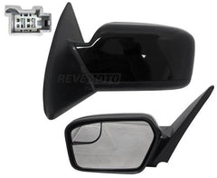 2011 Ford Fusion Side View Mirror Painted (Driver-side, Front View), Ebony (UA), Non-Heated, Without Puddle Light, With Blind Spot Glass, Without Blind Spot Detection_BE5Z17683AA - ReveMoto
