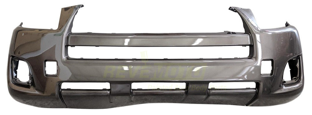 2009 Toyota RAV4 Front Bumper Cover, Base, Without Flare Holes, Painted  Pyrite Mica (4T3)