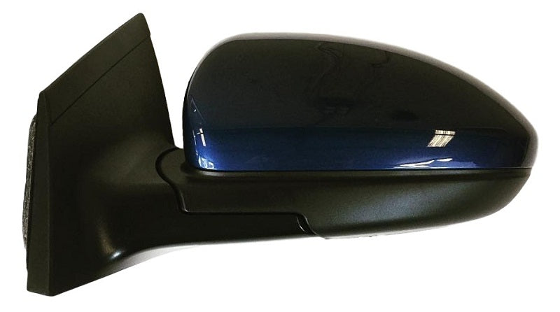2012 Chevrolet Cruze Driver Side View Mirror Painted Luxo Blue Metallic (WA933L)