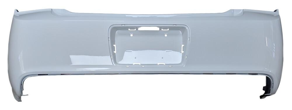 2008-2012 Chevrolet Malibu Rear Bumper Cover  08-10 Hybrid Fits All But 2011-2012 LS Models w Holes for Chrome License Plate Frame_GM1100816