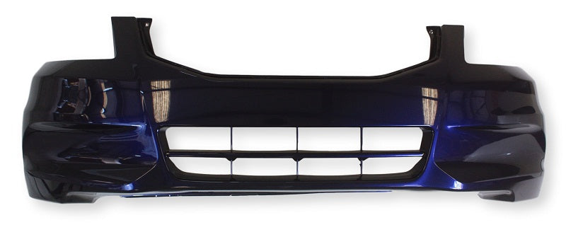 2008 Honda Accord Front Bumper Painted Alabaster Silver Metallic (Paint Code: NH700M)