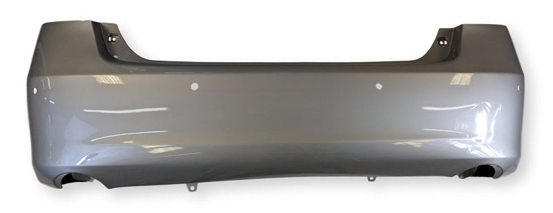 2007-2012 Lexus ES350 Rear Bumper; w/ Park Assist Sensor Holes; Made of Plastic; LX1100130; 5215933923