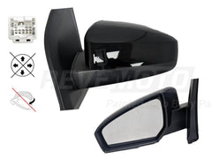 2009 Nissan Sentra : Side View Mirror Painted