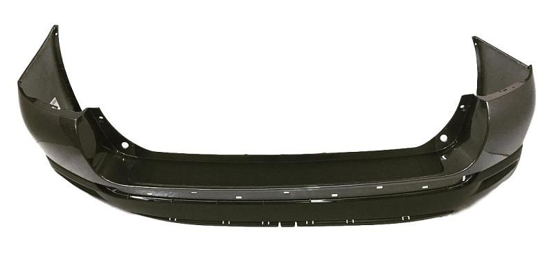 2011-2013 Toyota Highlander Rear Bumper; Lower_Upper Pad; Except Hybrid Models; Textured; TO1100289; 521590E907