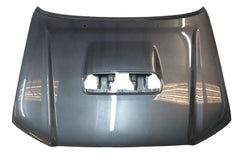 2014 Toyota Tacoma Hood With Scoop Painted Magnetic Gray Metallic (1G3)