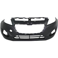 2013-2015 Chevrolet Spark Front Bumper Cover for LT Models wo Fog Light Holes wo Integral Lower Grille_GM1000935