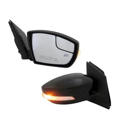 2013-2016 Ford Escape Passenger Side Power Door Mirror (Heated; w- Memory; w-o Blind Spot Information System; w- Spotter Mirror) FO1321437