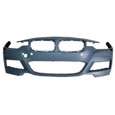 2013 BMW 328i : Front Bumper Cover Painted (Coupe/Convertible; w/ M-Package)