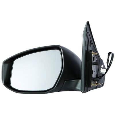 2013-2018 Nissan Sentra Driver Side Power Door Mirror Power, Manual Folding, Non-Heated, wo Signal Light_NI1320238