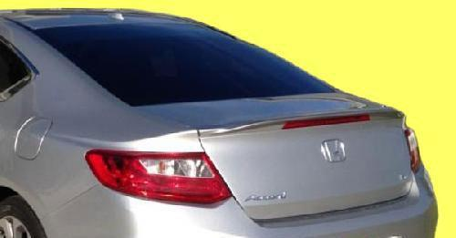 For Honda Accord 4D Trunk Rear Spoiler Painted NH788P ORCHID WHITE PEARL 13
