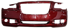 2011 Chrysler 300 : Front Bumper Cover Painted (OE Replacement)